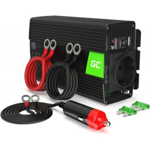 Green Cell® 300W/600W 12V 230V inverter 1/4